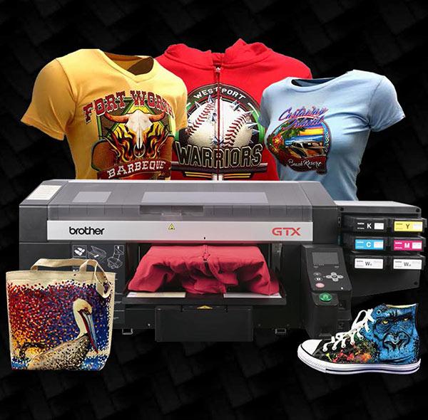 Impresora textil Barcelona, Brother GTX