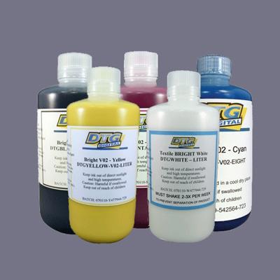 botellas tinta DTG